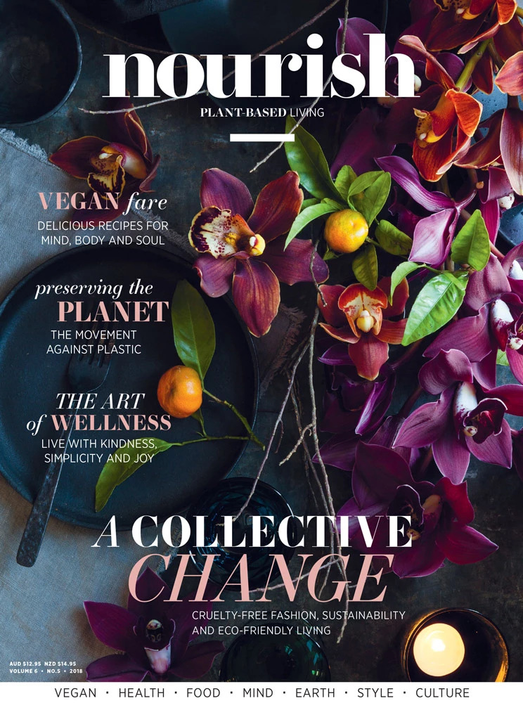 Lovatts Media relaunches vegan magazine Nourish following near-closure